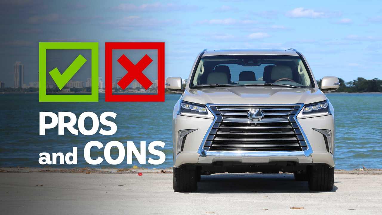 2019 Lexus LX 570: Pros And Cons