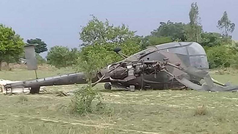 NAF helicopter crash-lands in Katsina