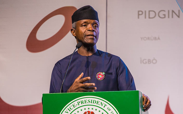 Economy, military assistance highlighted as Osinbajo, Pence meet