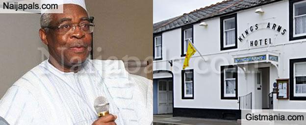 Former Defence Minister, TY Danjuma Splashes N1bn On 300 Years Old London Hotel