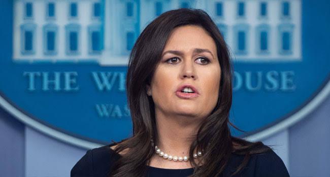 Trump Announces Exit Of White House Spokeswoman Sarah Sanders