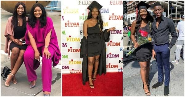 Actress Omotola Jalade's second daughter bags 2 degrees from US university at age 19