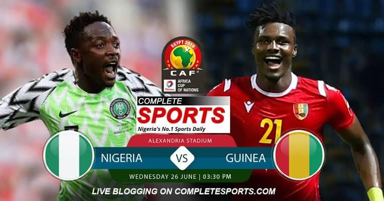 Nigeria vs Guinea 1:0