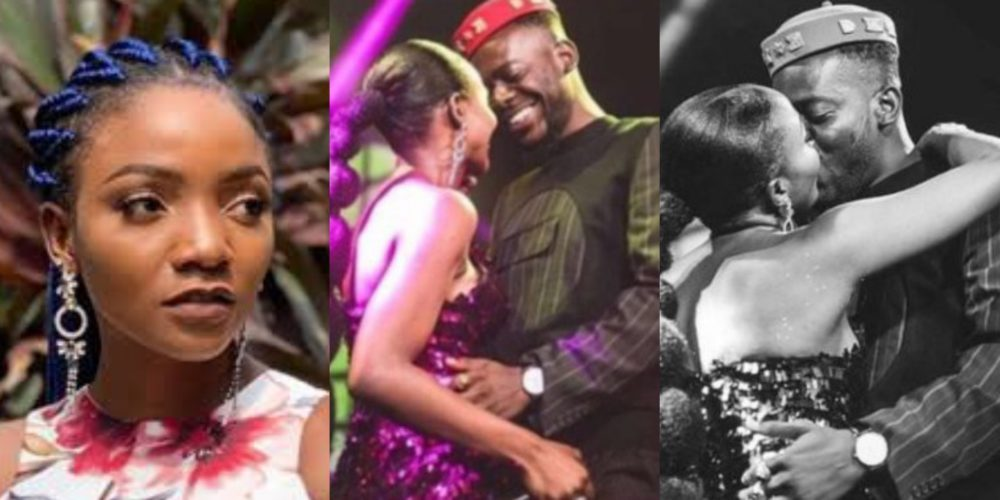 Simi shuts down fan who claimed to have a crush on Adekunle Gold