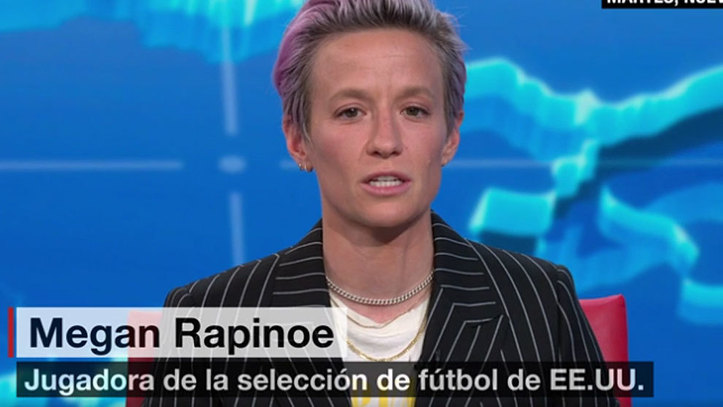 Rapinoe: Trump is excluding me, people of colour and maybe some of his supporters