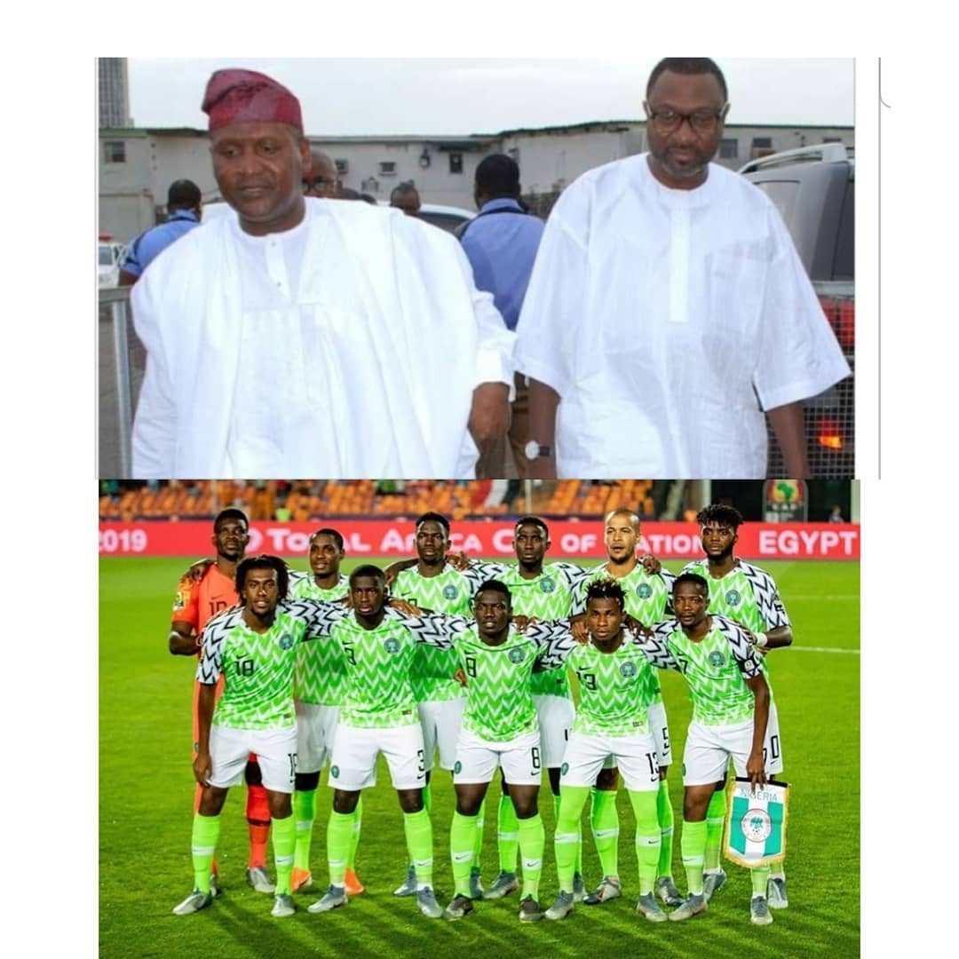 """""""We Will Give You $75K For Every Goal You Score Now"""" — Dangote, Otedola To Rain Dollars On Eagles"""