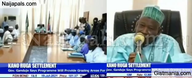 VIDEO: RUGA Settlement Will Be Sponsored By The Islamic Bank – Kano Governor, Abdullahi Gandule Says