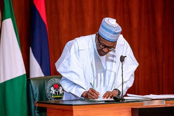 BREAKING: NJC Urges Buhari To Appoint Tanko Mohammed CJN