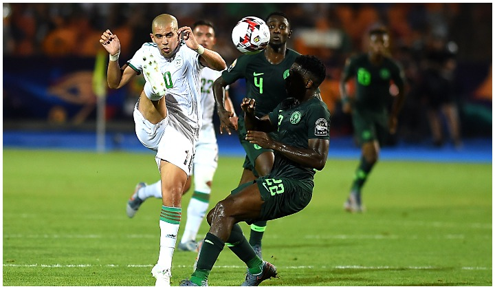 Algeria Knocks Super Eagles of Nigeria Out Of AFCON 2019