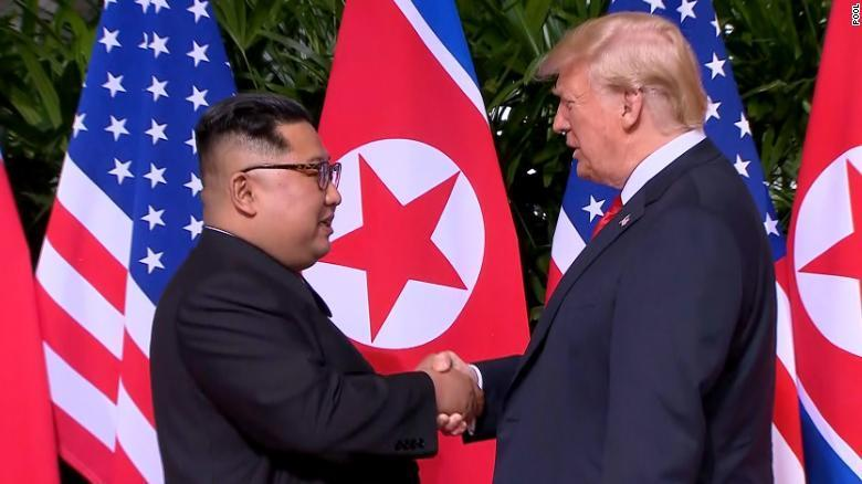 Trump sets foot in North Korea, agrees with Kim to resume talks