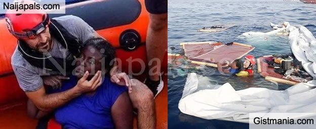Tragedy Strikes In The Mediterranean As More Than 400 Migrants Feared Dead And Only One Survivor