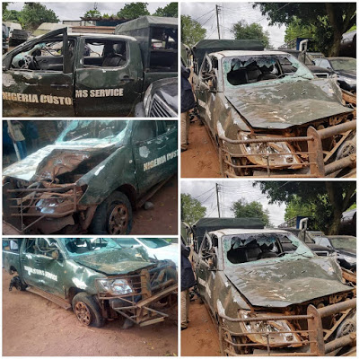 Federal High Court Convicts Three Persons For Vandalizing Customs Official Patrol Vehicle