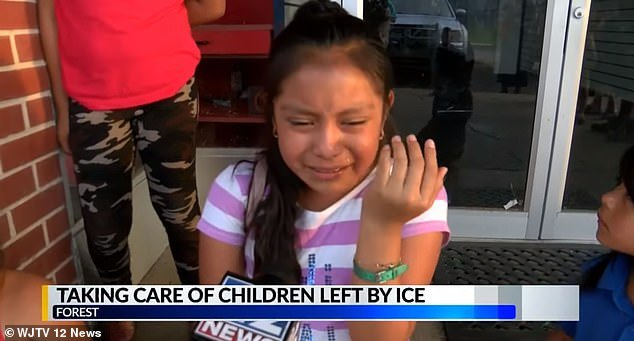 VIDEO: Young Girl Whose Dad Was Arrested By ICE Begs For His Release