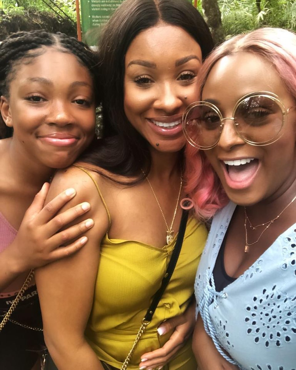 DJ Cuppy Goes To Spain On Vacation With Anthony Joshua and His Family