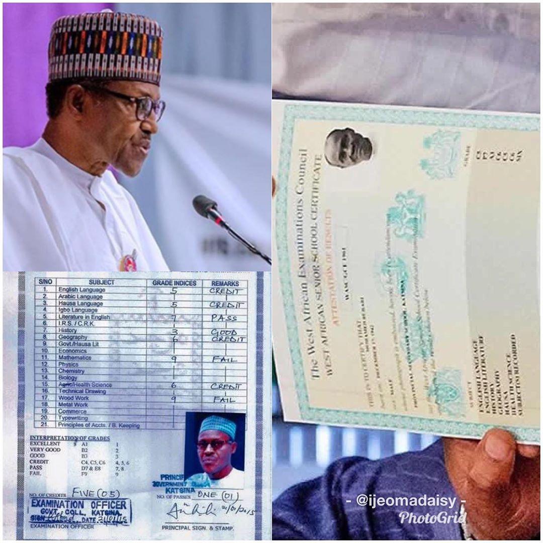 WAEC official Denies Signing President Buhari's Cambridge Certificate