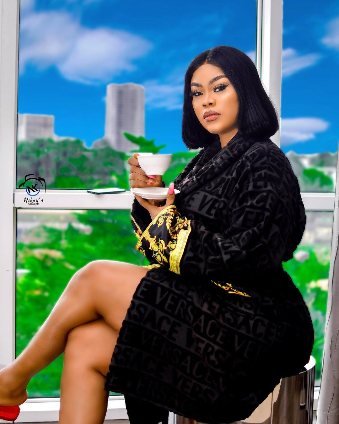 PHOTOS: Nollywood Actress, Daniella Okeke Causes Eruption On IG With Her New Stunning Photos