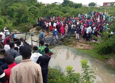 ATBU Bridge Collapse: About 30 Students Were on The Bridge Taking Selfies – VC Reveals