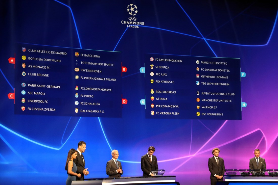 Player Of The Year To Be Unveiled As UEFA Champions League Draw Holds Today