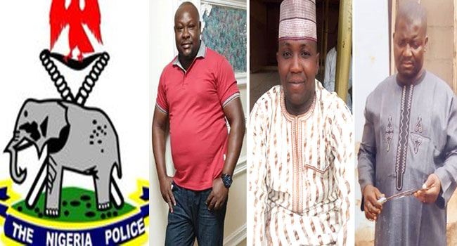 Nigerian Police Reveals The Identities Of 3 Operatives Killed By Soldiers In Taraba State (Photos)