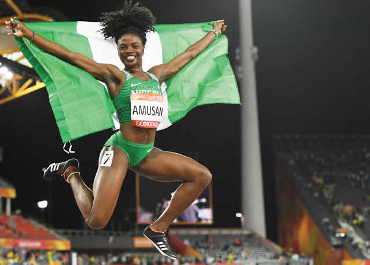 Nigerian Female Athlete, Tobi Amusan Breaks 20 Year Record, Becomes Africa 100m Champion