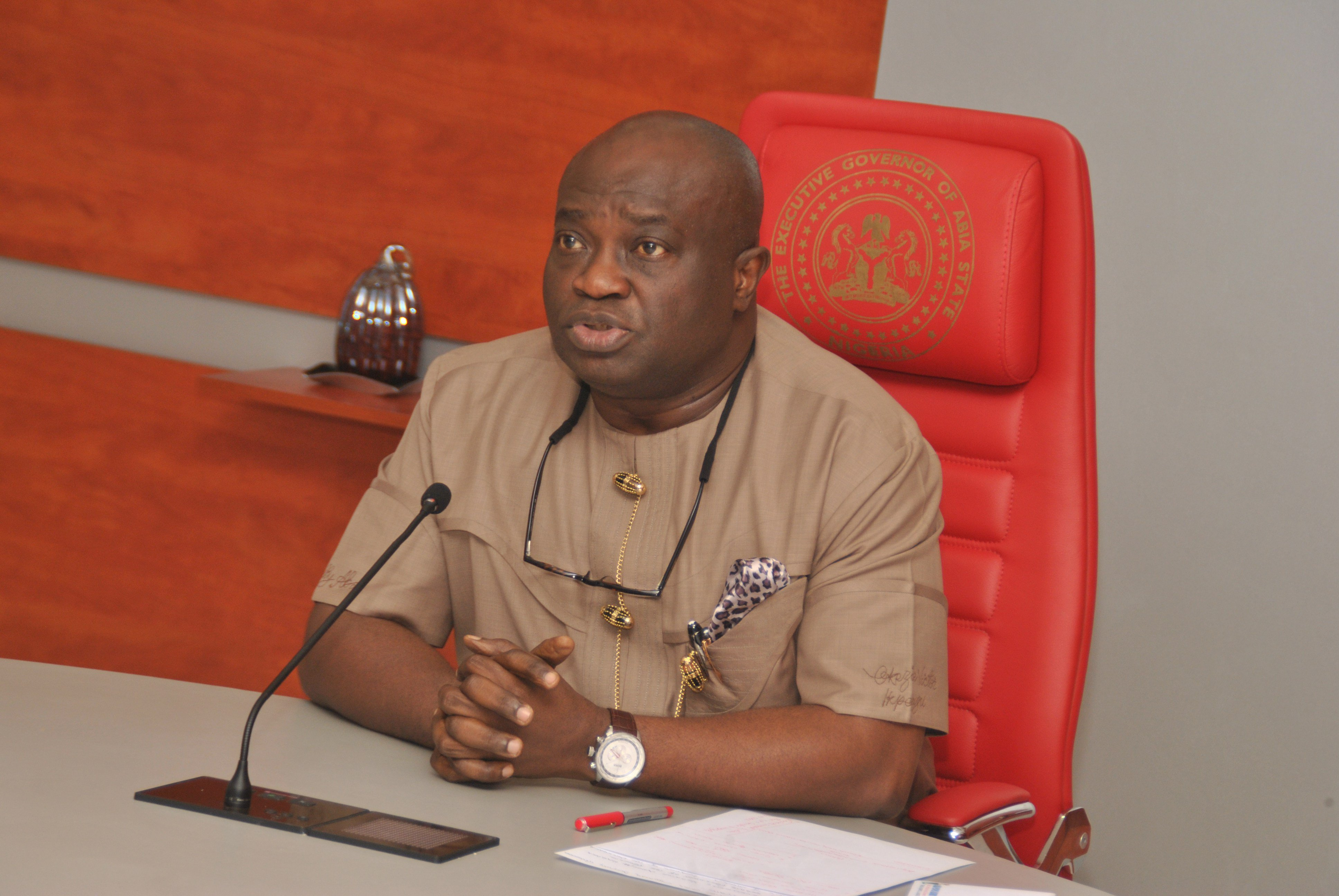 Abia State Governor, Okezie Ikpeazu Announces Arrest Of Soldier Who Allegedly Killed A Motorcyclist