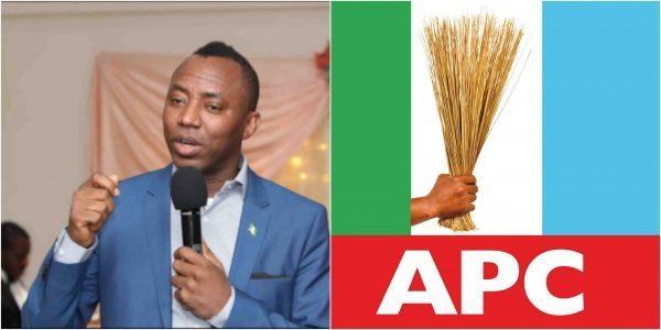"""RevolutionNow: """"Those In Support Of Sowore Are Cowards And Enemies Of Nigeria"""" – APC Says"""