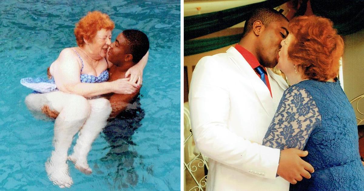 Nigerian Man Marries His British Granny Lover.. (WATCH)