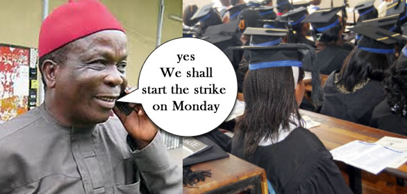 Universities Workers To Begin Nationwide Warning Strike Today Monday, 19th August
