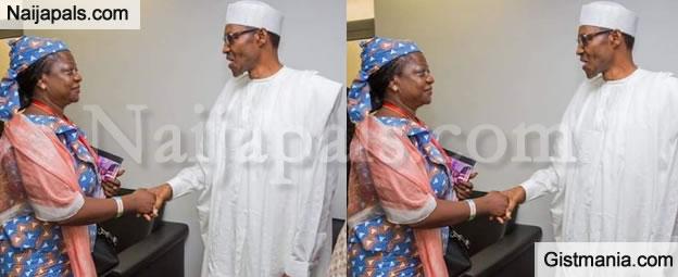 Buhari Sacks Lauretta Onochie, His Outspoken Media Aide and Bashir Ahmad