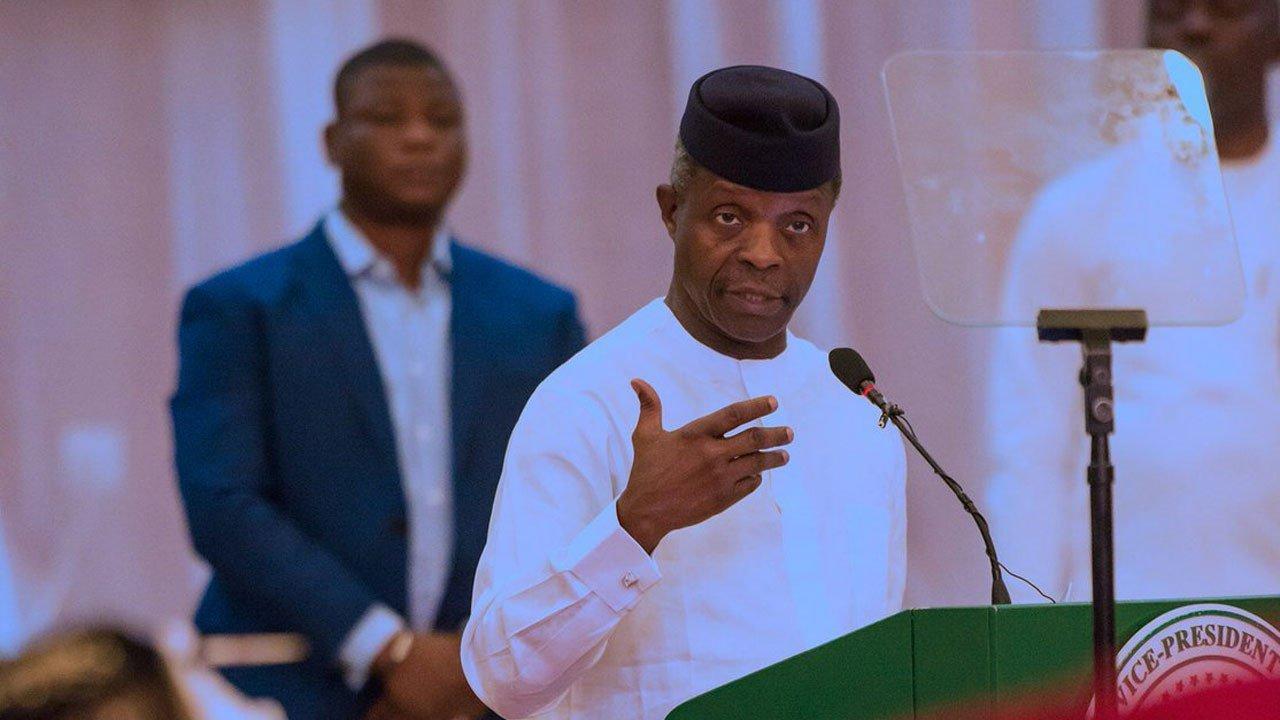 Osinbajo Emphasises Why Nigeria Needs State Police