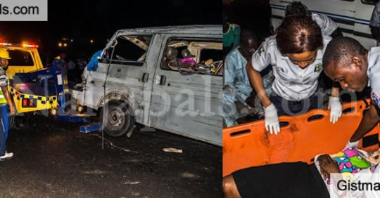 (VIDEO): One Dead, Many Injured as Customs Officers Cause Accident While Chasing a Danfo in Lagos