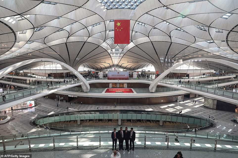 China Opens New £13.5bn Mega-Airport In Beijing That Has The World's Biggest Terminal (PICS)