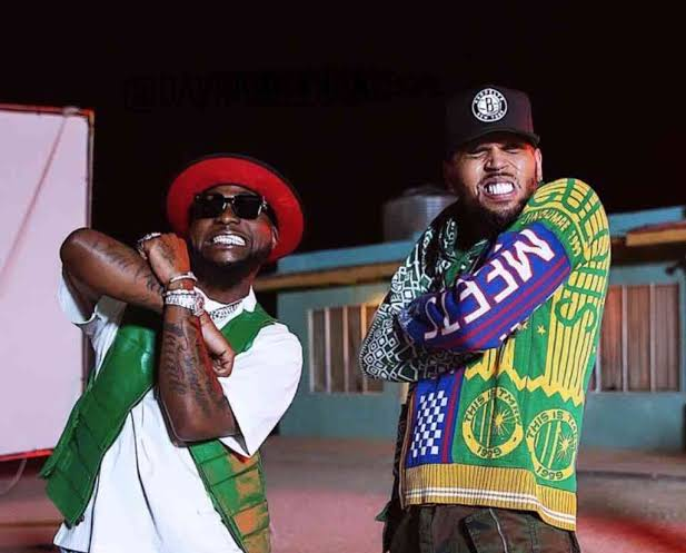 Davido Announces He Would Be Dropping Another Song With Chris Brown Next Week