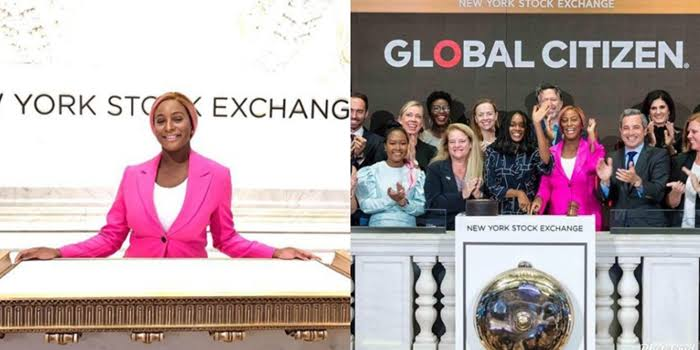 DJ Cuppy Rings The New York Stock Exchange Bell Making Her The First Nigerian To Ring It