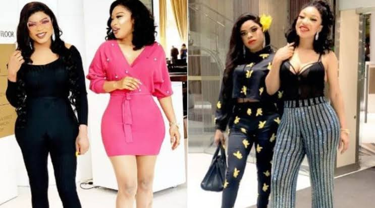 Tonto Dikeh Gifts Bobrisky With An iPhone 11 Pro worth over ₦600,000, Read Bobrisky's Reaction