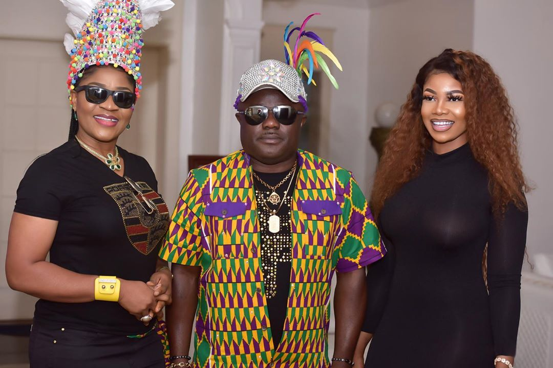 BBNaija's Tacha Spotted Hanging Out With Cross Rivers State Governor, Ben Ayade & Wife, Linda
