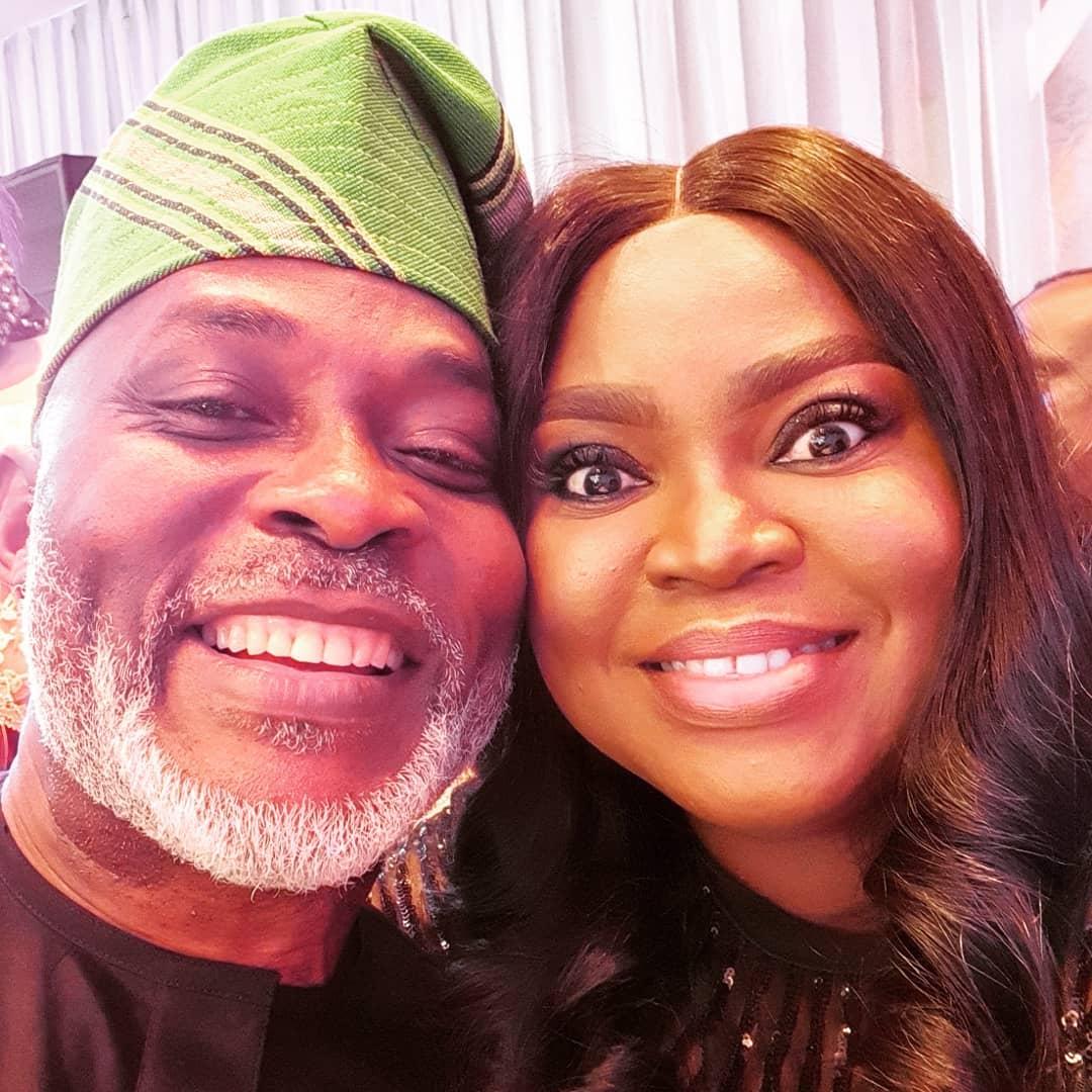 Actor Richard Mofe Damijo Celebrates Wife, Jumobi Adegbesan On Their 19th Wedding Anniversary