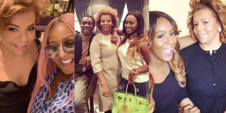 """""""I Am A Strong Woman Because A Strong Woman Raised Me"""" – DJ Cuppy Gushes Over Her Mum"""