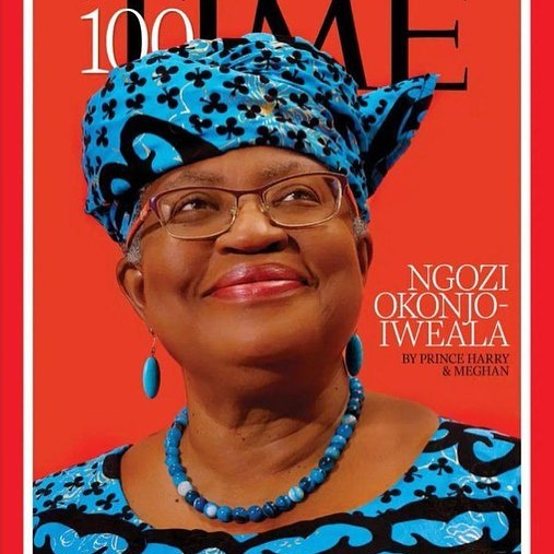 Dr Ngozi Okonjo-Iweala Named As One Of The World's Most Influential People Alive